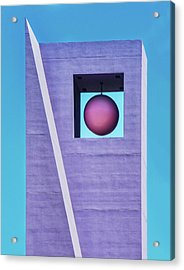 The Purple Tower At Pershing Square Acrylic Print