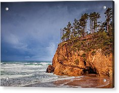 The Remote Coast Acrylic Print by Andrew Soundarajan