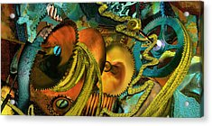 The Riotous Rope Acrylic Print by Anne Weirich