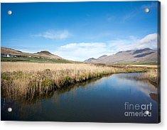 The River Feoghanagh Acrylic Print by Nichola Denny
