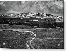 The Road That Leads You Home Acrylic Print by Peter Tellone