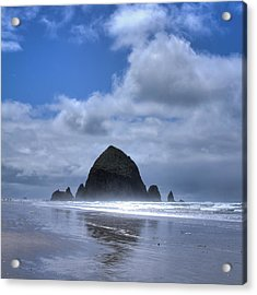 Acrylic Print featuring the photograph The Rock by David Patterson