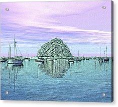 The Rock Acrylic Print by Kurt Van Wagner