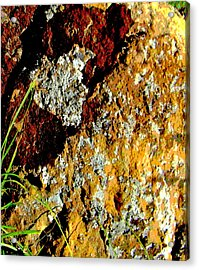 Acrylic Print featuring the photograph The Rock by Lenore Senior