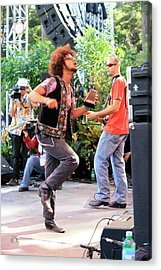 The Rock Strut Acrylic Print