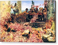 The Roses Of Heliogabalus Acrylic Print
