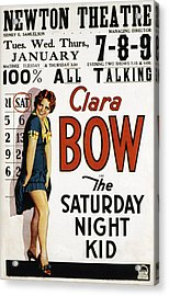 The Saturday Night Kid, Clara Bow, 1929 Acrylic Print by Everett