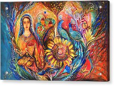 The Shabbat Queen Acrylic Print by Elena Kotliarker