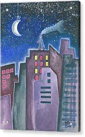 The Sleepwalker II Acrylic Print by Graciela Bello