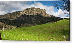 The Three Finger Mountain Acrylic Print