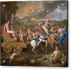 The Triumph Of Bacchus Acrylic Print