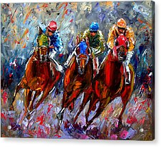 The Turn Acrylic Print by Debra Hurd