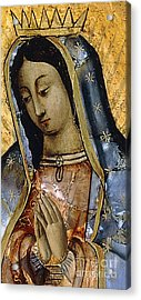 The Virgin Of The Guadaloupe Acrylic Print
