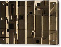 The Wall 2 Acrylic Print by David Umemoto