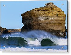 Acrylic Print featuring the photograph The Wave by Thierry Bouriat