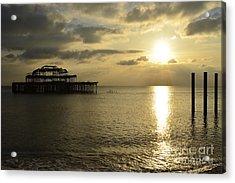 The West Pier Acrylic Print