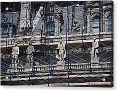 The Wiseguys Acrylic Print by Rob Hans