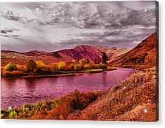 Acrylic Print featuring the photograph The Yakima River by Jeff Swan