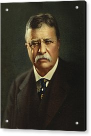 Theodore Roosevelt - President Of The United States Acrylic Print by International  Images