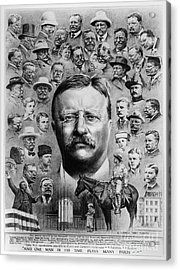 Theodore Roosevelt Acrylic Print by Granger