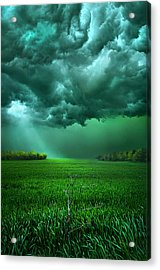 There Came A Wind Acrylic Print