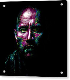 @therock #dwaynejohnson #nfl #disney Acrylic Print