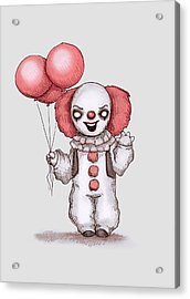 They All Float Acrylic Print