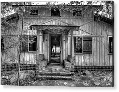 Acrylic Print featuring the photograph This Old House by Mike Eingle