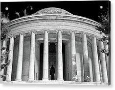 Acrylic Print featuring the photograph Thomas Jefferson Memorial  by Mitch Cat