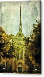 Thy Will Be Done Acrylic Print by Joan Bertucci
