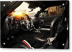 Tikt Chevrolet Corvette C6 Zr1 Tripple X 3 Wide Acrylic Print