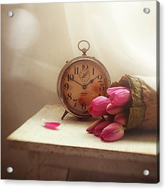 Acrylic Print featuring the photograph Time Stood Still by Amy Weiss