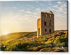 Tin Mine At St. Agnes, Cornwall, England Acrylic Print