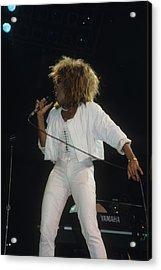 Tina Turner Acrylic Print