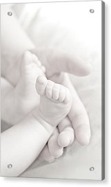Tiny Feet Acrylic Print