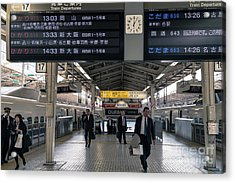 Tokyo To Kyoto, Bullet Train, Japan 3 Acrylic Print