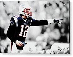 Tom Brady Air Traffic Controller Acrylic Print by Brian Reaves
