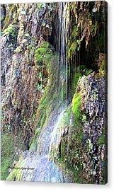 Tonto Waterfall Cave Acrylic Print