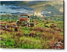 Tornado Truck Acrylic Print