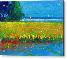 Toward The Beach Acrylic Print