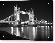 Tower Bridge On The Thames London Acrylic Print