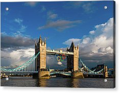 Acrylic Print featuring the photograph Tower Bridge by Stewart Marsden
