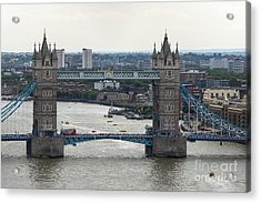 Tower Bridge Acrylic Print by Svetlana Sewell
