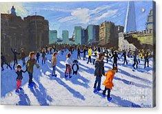 Tower Of London Ice Rink Acrylic Print