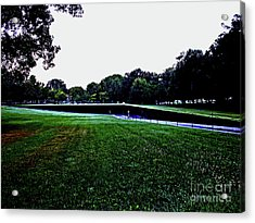 Tranquility At Sunrise  Vietnam Memorial Acrylic Print