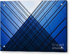 Triangle Reflection Acrylic Print by Hideaki Sakurai