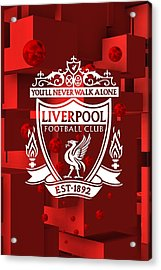 Tribute To Liverpool 3 Acrylic Print