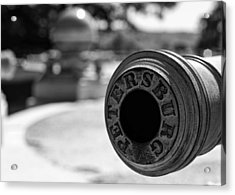 Trophy Point Cannon  Acrylic Print