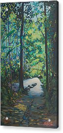 Tropical Bliss Acrylic Print