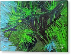 Tropical Paradise Acrylic Print by Shelly Wiseberg